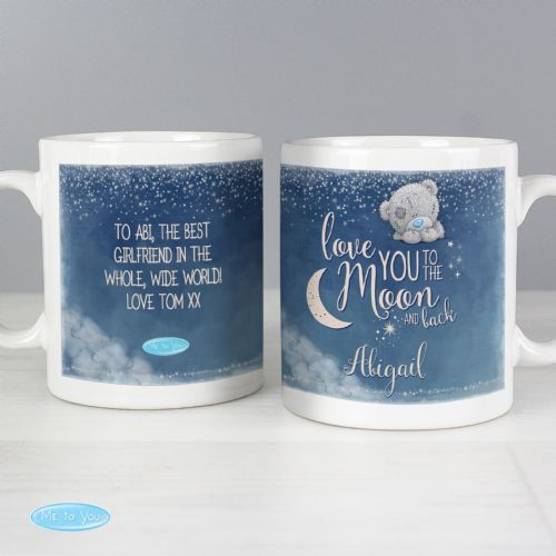 Personalised Me to You Love You to the Moon and Back Mug